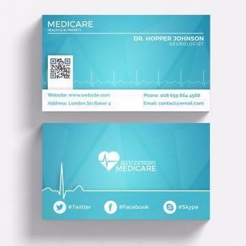 Medical Business Card Business Cards Business Card Design