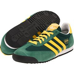adidas dragon verde giallo