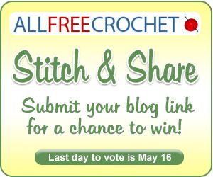 "Baby Crochet Patterns ""Stitch & Share"" Voting - let you voice be heard! From @AllFreeCrochet"