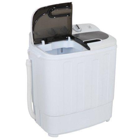Zeny Mini Twin Tub Portable Compact Washing Machine Washer Spin