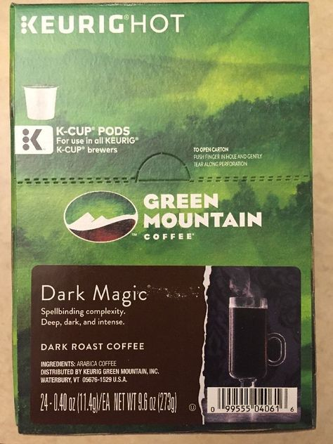 keurig green mountain coffee ingredients