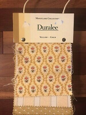 Duralee Montclair Upholstery Fabric Swatch Book Craft Quilting 63