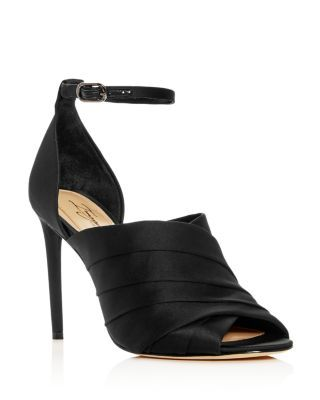 2057ce8cd Imagine VINCE CAMUTO Women's Rander Satin High-Heel Sandals   Bloomingdale's