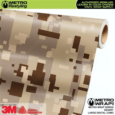 Large Digital Desert Camouflage Vinyl Wrap Metro Restyling In 2020 Vinyl Wrap Vinyl Digital