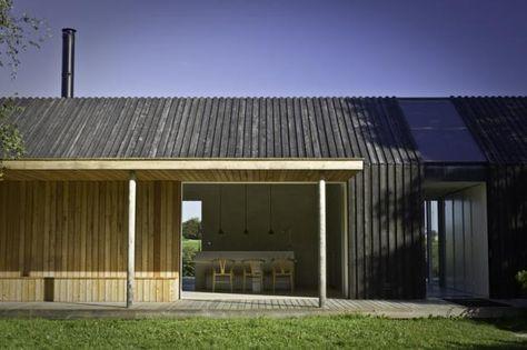 """Schön schlicht: Haus """"Black & Bright"""", Møn (Dänemark)"""