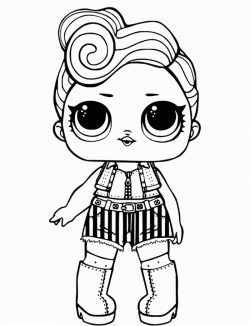 Lol Doll Coloring Pages Printable Coloringfile Kitty Coloring Lol Dolls Mermaid Coloring Pages
