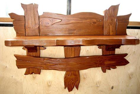 Вешалка под старину настенная большая из дерева (5) | 321x474