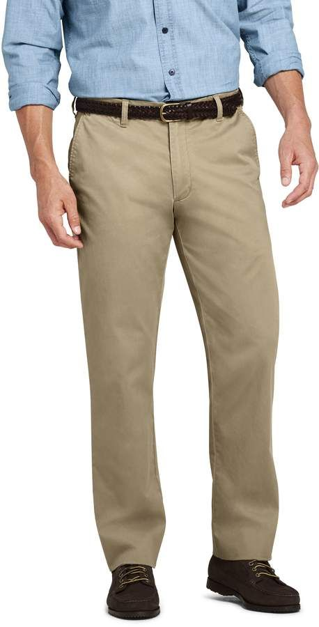 Lands End Men S Comfort Waist Fit Comfort First Knockabout Chino Pants Chinos Pants Pants Mens Pants