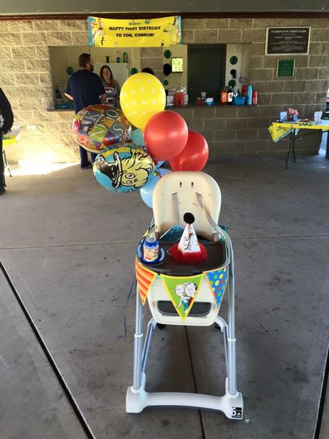 Chair for the birthday boy!