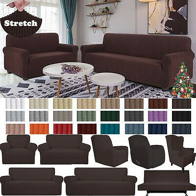 Loveseat 2 Seat Fit Total Sitting Area Is 46 5 63 Oversized Sofa 4 Seat Fit Total Sitting Area Is 78 106 Fabric Sofa Cover Slipcovered Sofa Sofa Covers