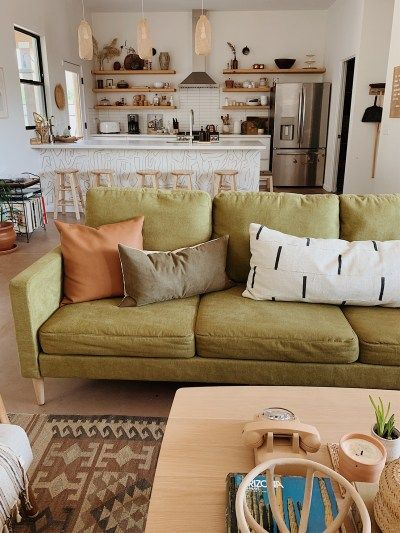 Inside Oursouthwestnest S Earthy Tucson Home Boho Living Room First Apartment Decorating Small Apartment Decorating Living Room