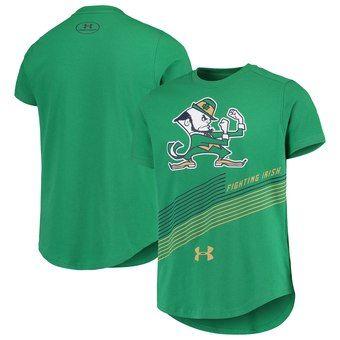 Women's Under Armour Green Notre Dame Fighting Irish