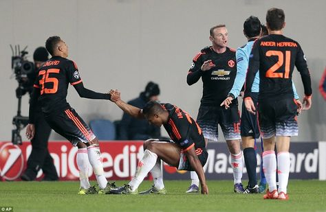 CSKA Moscow 1-1 Manchester United: Anthony Martial rescues a point