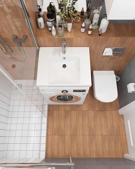 Актуальные идеи для ремонта ванной комнаты в хрущевке — лучшие решения для интерьера на фото от SALON