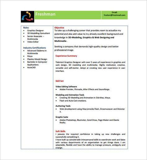 14+ Resume Templates for Freshers - PDF, DOC   Resume format ... on sample resume substitute teacher, sample resume powerpoint presentation, sample resume documents, sample resume autocad,