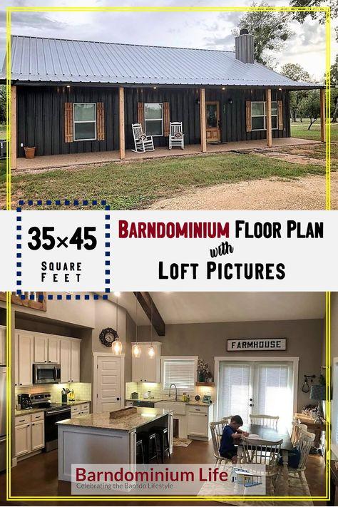 Metal House Plans, Pole Barn House Plans, Pole Barn Homes, New House Plans, Dream House Plans, Cabin Plans, Small House Plans, Pole Barns, Shop House Plans