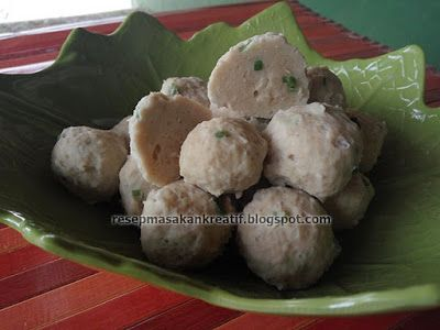 Resep Bakso Ayam Mudahnya Membuat Pentol Kenyal Padat Lembut Resep Resep Masakan Malaysia Resep Masakan