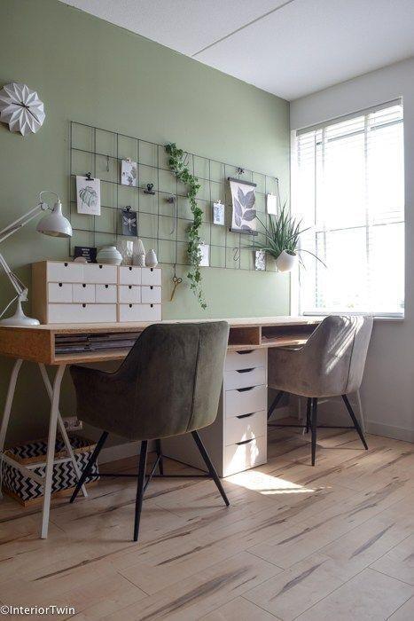 20 Einzigartige Kleine Home Office Design Ideen Die Sie So Schnell Wie Moglich Ausprobieren Konnen In 2020 Mit Bildern Zuhause Innenarchitektur Schlafzimmer Arbeitszimmer Mobel