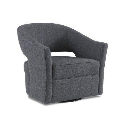 Precedent Furniture Luna Swivel Barrel Chair In 2020 Barrel