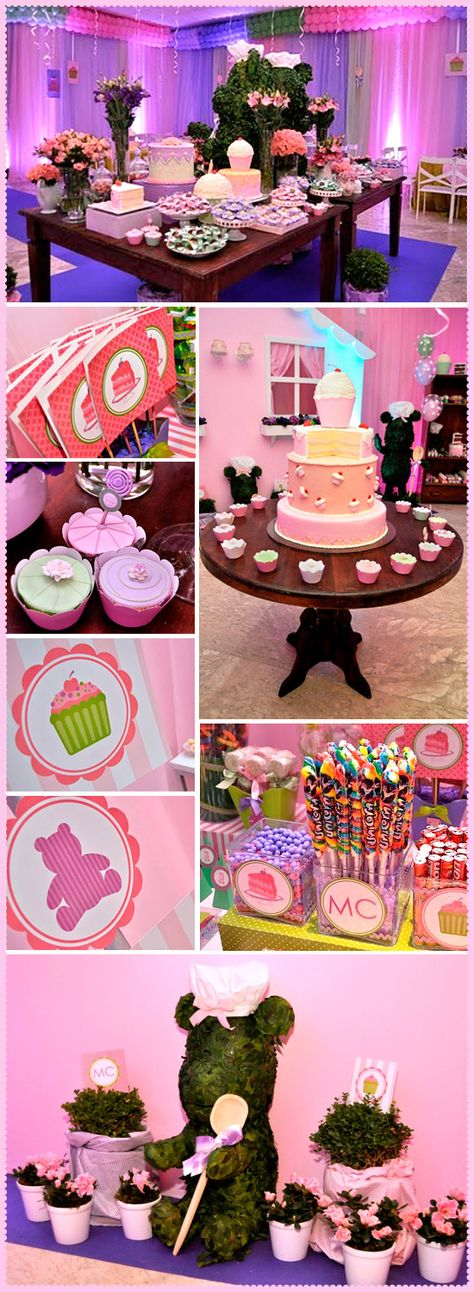 Darling party idea for little girls