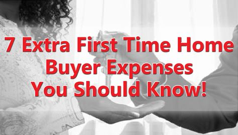 Cortiers Blog: 7 Extra First Time Home Buyer  Expenses You Should Know! Don't want to be surprised with the extra costs that are involved as a first time homeowner? Here are seven extra expenses you should know about before the process:, www.cortiersrealestate.com, Cortiers Real Estate | College Station Real Estate