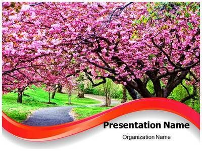 nature, flowers, trees,fields, rivers, sea, forest, grass nature - spring powerpoint template