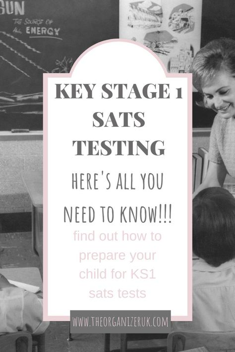 All you need to know about KS1 SATS testing!