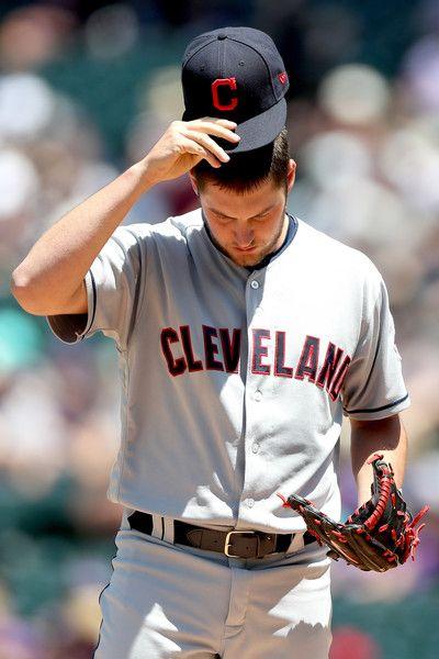 Trevor Bauer Photos Photos Cleveland Indians V Colorado Rockies Cleveland Indians Cleveland Indians Baseball Trevor Bauer