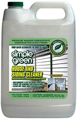 Amazon Com Simple Green 18201 House And Siding Cleaner 1 Gallon Bottle Industrial Scientific Cleaning Vinyl Siding Best Cleaner Spring Cleaning
