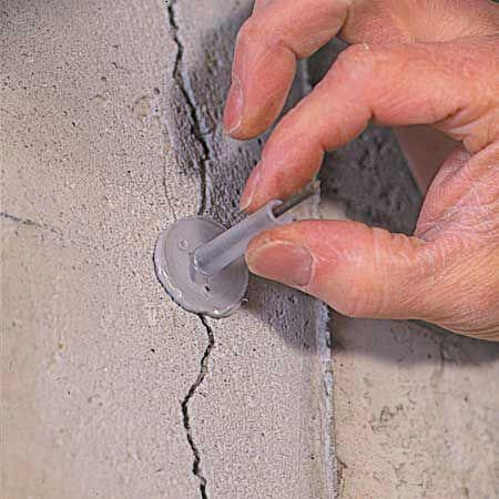 Do Your Concrete Walls Have Cracks Discover A Simple Effective Way To Patch Cracks In Poured Repair Cracked Concrete Concrete Walls Diy Fix Cracked Concrete