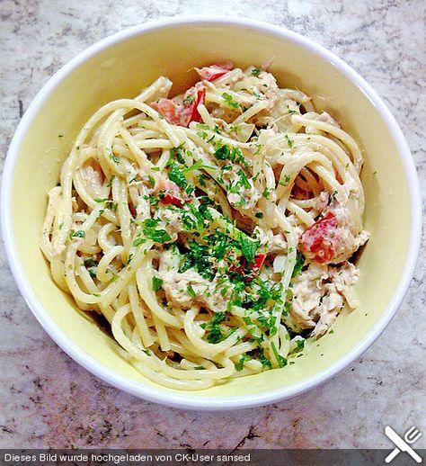 Spaghetti - Thunfischsalat