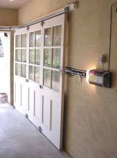 Never Knew This Existed Sliding Garage Doors 192