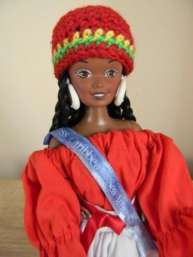 Lalka Barbie Lalki Swiata Jamajka Karaiby 7531363298 Oficjalne Archiwum Allegro Beanie Hats