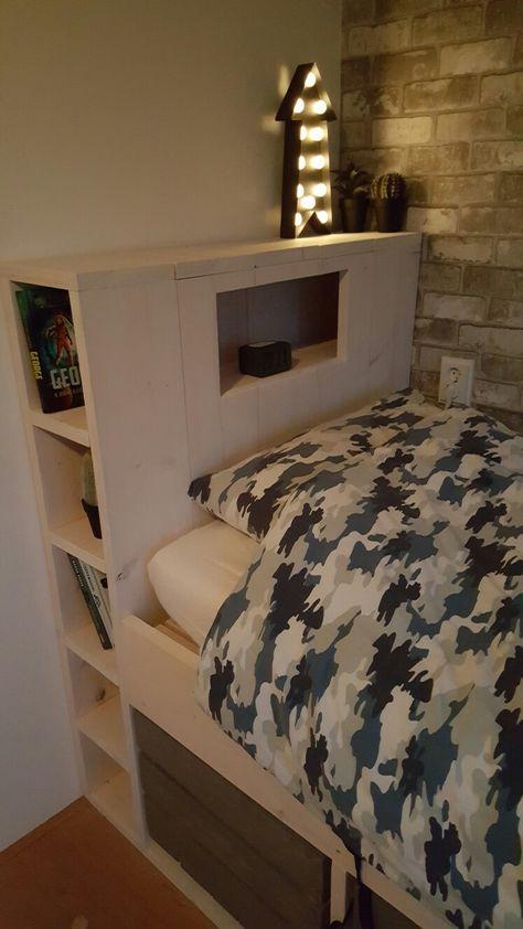 Stoer jongens bed! #tiener #stoer bed #diy