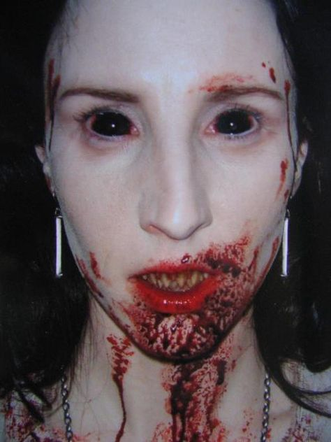 """The lead female vampire in """"30 Days of Night"""". The makeup/effects were spare and otherworldly looking, gaunt and frightful. Not the usual vampire-near-human look that gets very boring and predictable."""