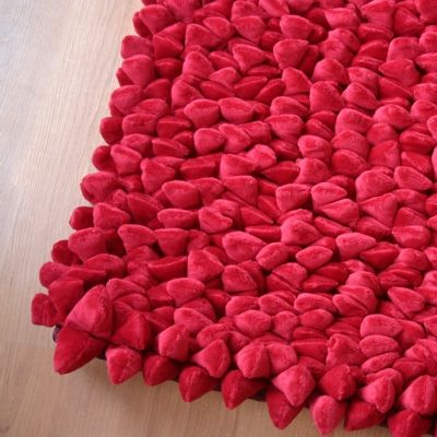 Dreamweavers Cherry Red Chamois Pebble