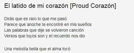 Coco Ost El Latido De Mi Corazon Proud Corazon Lyrics