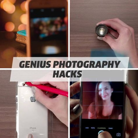 Your Instagram feed is going to look a lot better with these photography hacks!