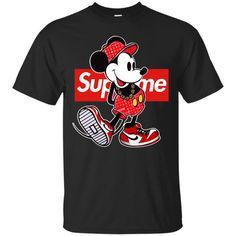 411136025009 Supreme Mickey Mouse Classic T-Shirt
