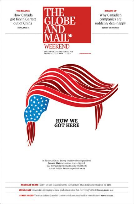 The Globe And Mail Weekend Canada Coverjunkie Publication Design Newspaper Design Graphic Design Inspiration