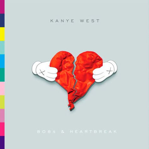 Kanye West, 808s & Heartbreak (2008) - The 50 Best Hip-Hop Album Covers | Complex UK
