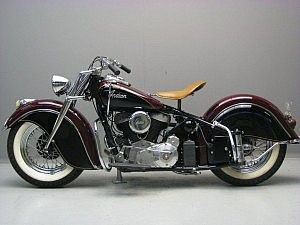 Indian 1946 Chief 1200 Cc 2 Cyl Sv Yesterdays Indian Motorbike Indian Motorcycle Motorcycle