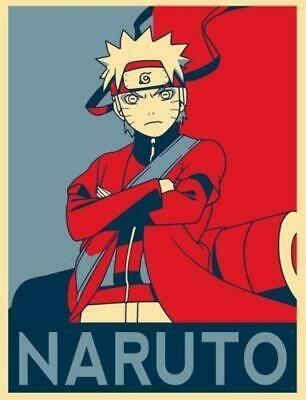 Poster Propaganda Naruto Gaara