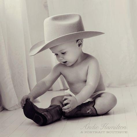 so you wanna be a cowboy Baby boy #posing