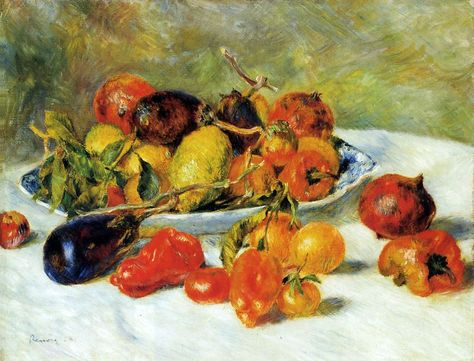 Fruits of the Midi Pierre Renoir Check more at http://artunframed.com/Gallery/shop/fruits-of-the-midi/
