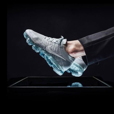 detailed look 2c7fa 114ae Nike Air Vapormax Flyknit Pure Platinum  comfortable,  perfomance,  sneakers