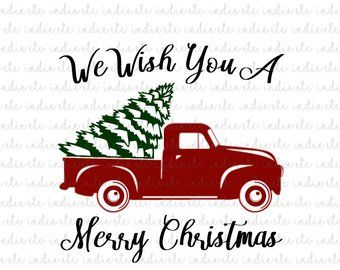 Christmas Tree Truck Svg Free.Image Result For Christmas Free Svg Files For Cricut