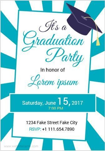 Graduation Invitation Templates Microsoft Word 10 Best Graduation Party Invita Graduation Invitations Template Graduation Card Templates Graduation Invitations