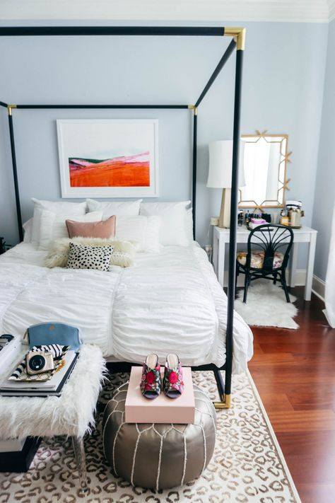 How to Create a Space For Positivity | Bedroom Home Decor Inspiration