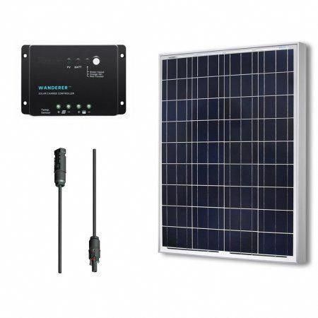 Renogy 100 Watts 12 Volts Polycrystalline Solar Bundle Kit Bestsolarpanels Solarpanels Solarenergy Solarpowe In 2020 Solar Energy Panels 12v Solar Panel Solar Panels